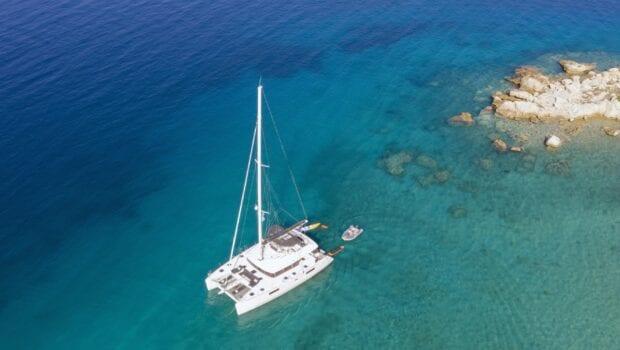 boom lagoon catamaran exterior (7) min - Valef Yachts Chartering