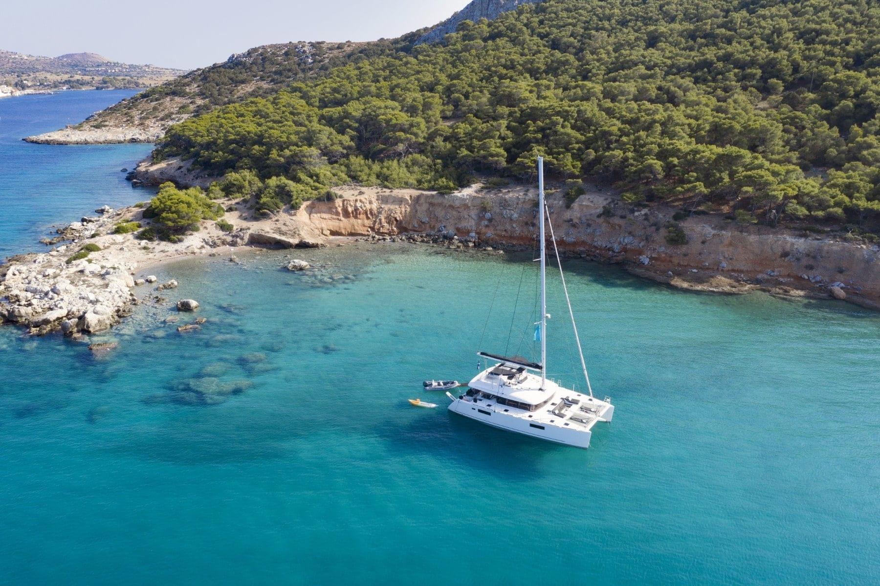 boom lagoon catamaran exterior (8) min - Valef Yachts Chartering
