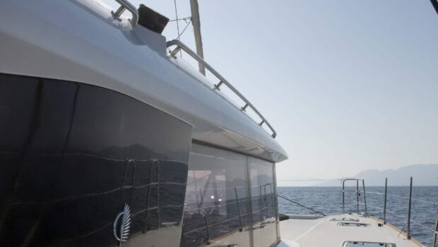 boom lagoon catamaran exterior relax (1) min - Valef Yachts Chartering