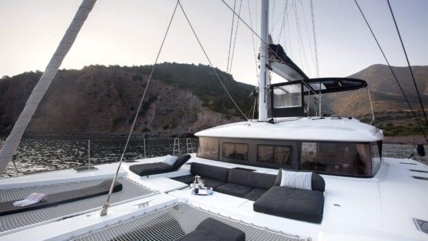 boom lagoon catamaran exterior relax (11) min - Valef Yachts Chartering