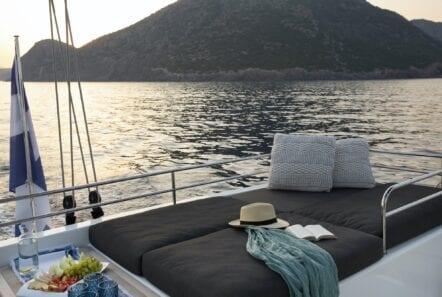 boom lagoon catamaran exterior relax (15) min - Valef Yachts Chartering