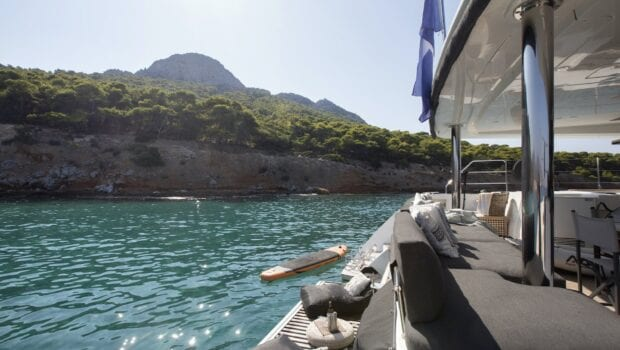 boom lagoon catamaran exterior relax (2) min - Valef Yachts Chartering