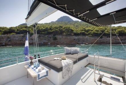 boom lagoon catamaran exterior relax (3) min - Valef Yachts Chartering