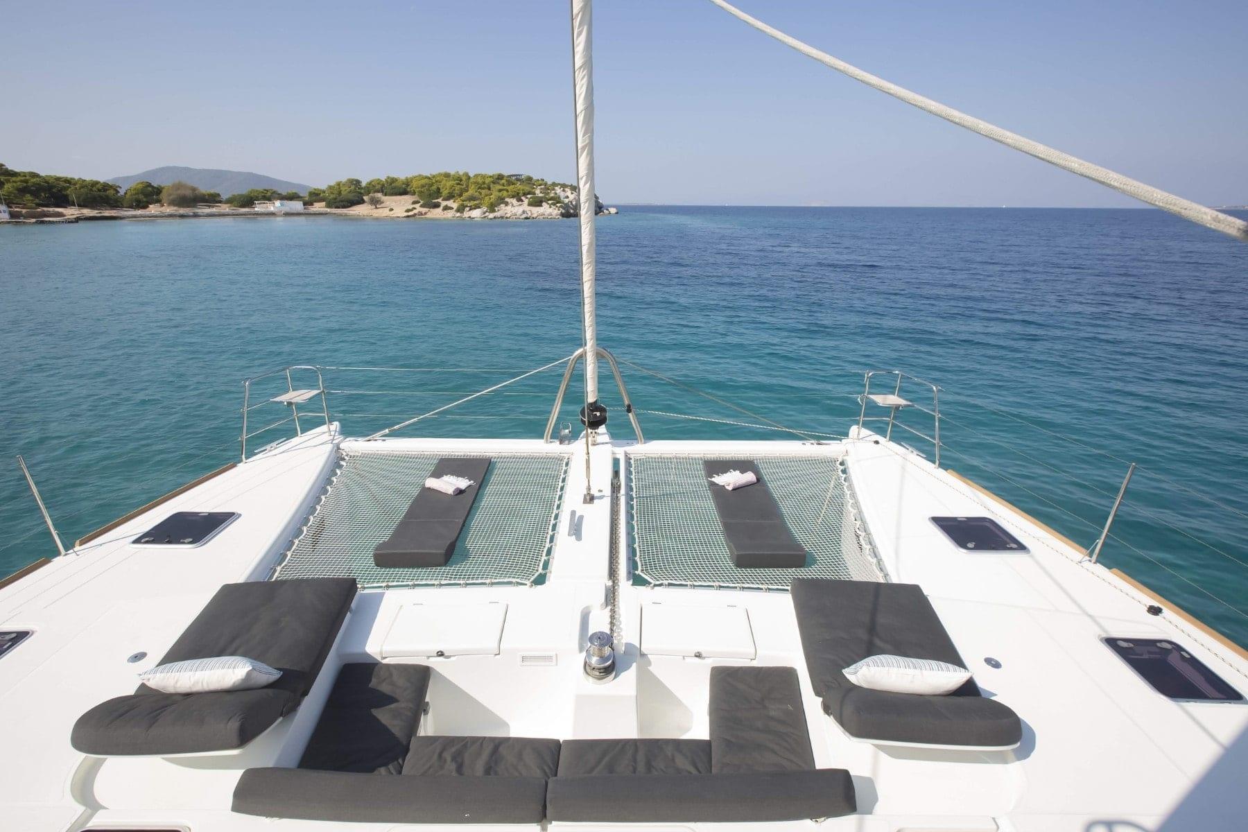 boom lagoon catamaran exterior relax (4) min - Valef Yachts Chartering