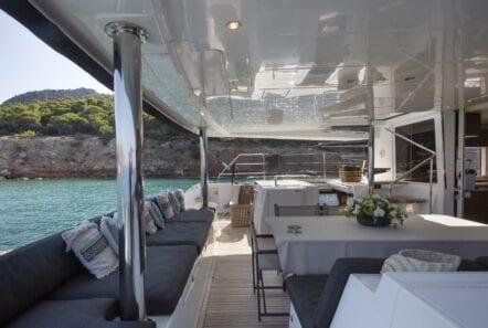 boom lagoon catamaran exterior relax (8) min - Valef Yachts Chartering