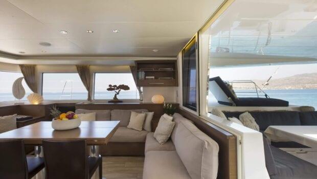 boom lagoon catamaran interior (5) min - Valef Yachts Chartering