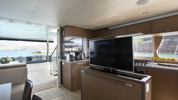 boom lagoon catamaran interior (7) - Valef Yachts Chartering
