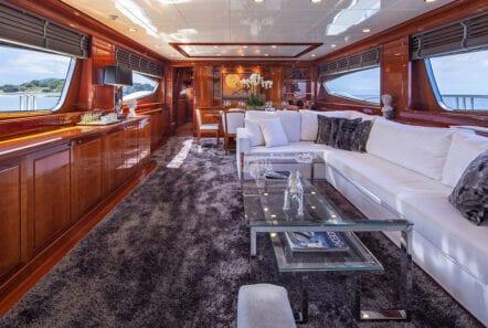 divine motor yacht interior - Valef Yachts Chartering