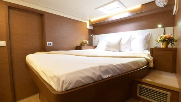 flo catamaran exterior cabins (3) - Valef Yachts Chartering
