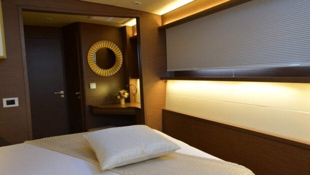 flo catamaran exterior cabins (6) - Valef Yachts Chartering