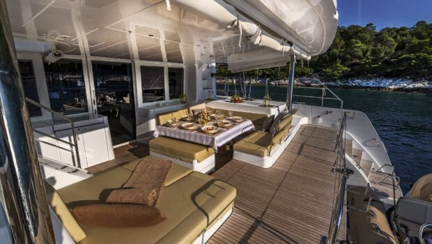 flo catamaran exterior spaces (27) - Valef Yachts Chartering