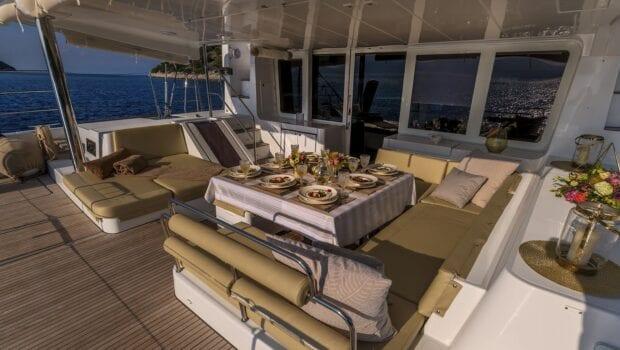 flo catamaran exterior spaces (29) - Valef Yachts Chartering