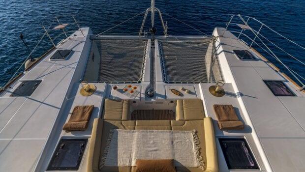 flo catamaran exterior spaces (30) - Valef Yachts Chartering