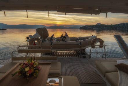 flo catamaran exterior spaces (5) - Valef Yachts Chartering