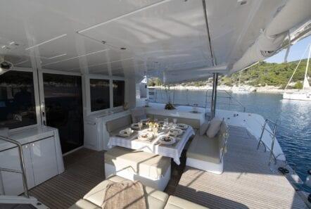 flo catamaran exterior views (1) - Valef Yachts Chartering