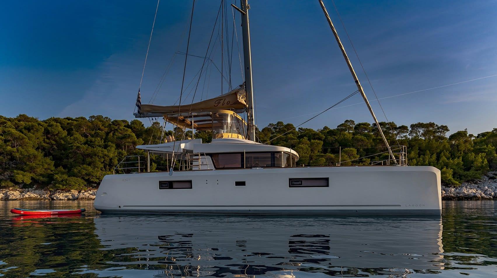 flo catamaran profiles (1) - Valef Yachts Chartering