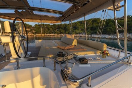 flo catamaran upper deck