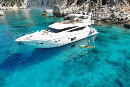 gia sena motor yacht profile - Valef Yachts Chartering