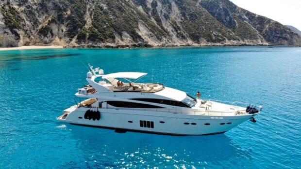gia sena motor yacht profile main - Valef Yachts Chartering