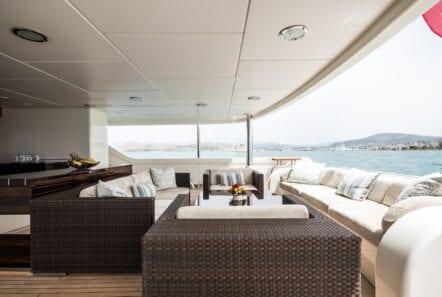 mercury megayacht aft deck (2) - Valef Yachts Chartering
