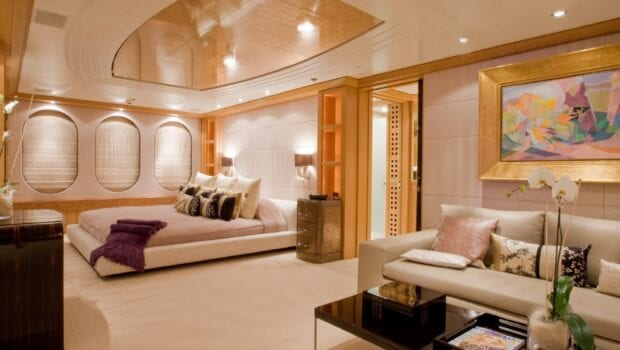 mercury megayacht grand owner suite (1) - Valef Yachts Chartering