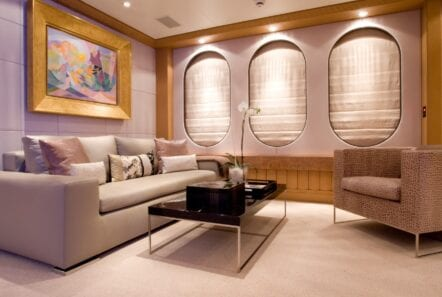 mercury megayacht grand owner suite (3) - Valef Yachts Chartering