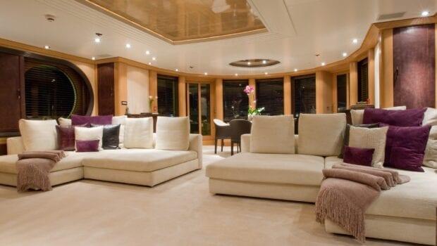 mercury megayacht luxurious salon (1) - Valef Yachts Chartering