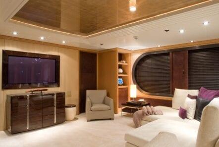 mercury megayacht luxurious salon (3) - Valef Yachts Chartering