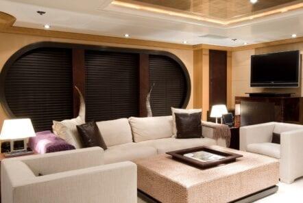 mercury megayacht luxurious salon (5) - Valef Yachts Chartering