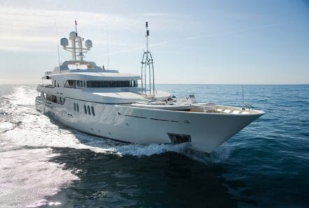 mercury megayacht profile