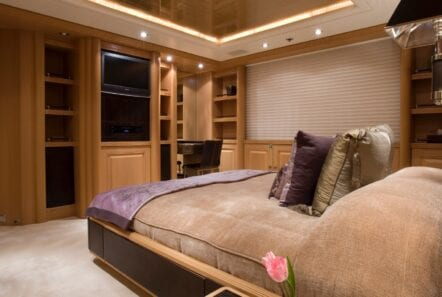 mercury megayacht vip suite (1) - Valef Yachts Chartering