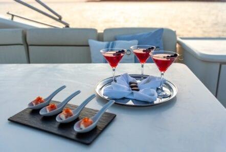 pareaki motor yacht dining (Custom) min - Valef Yachts Chartering