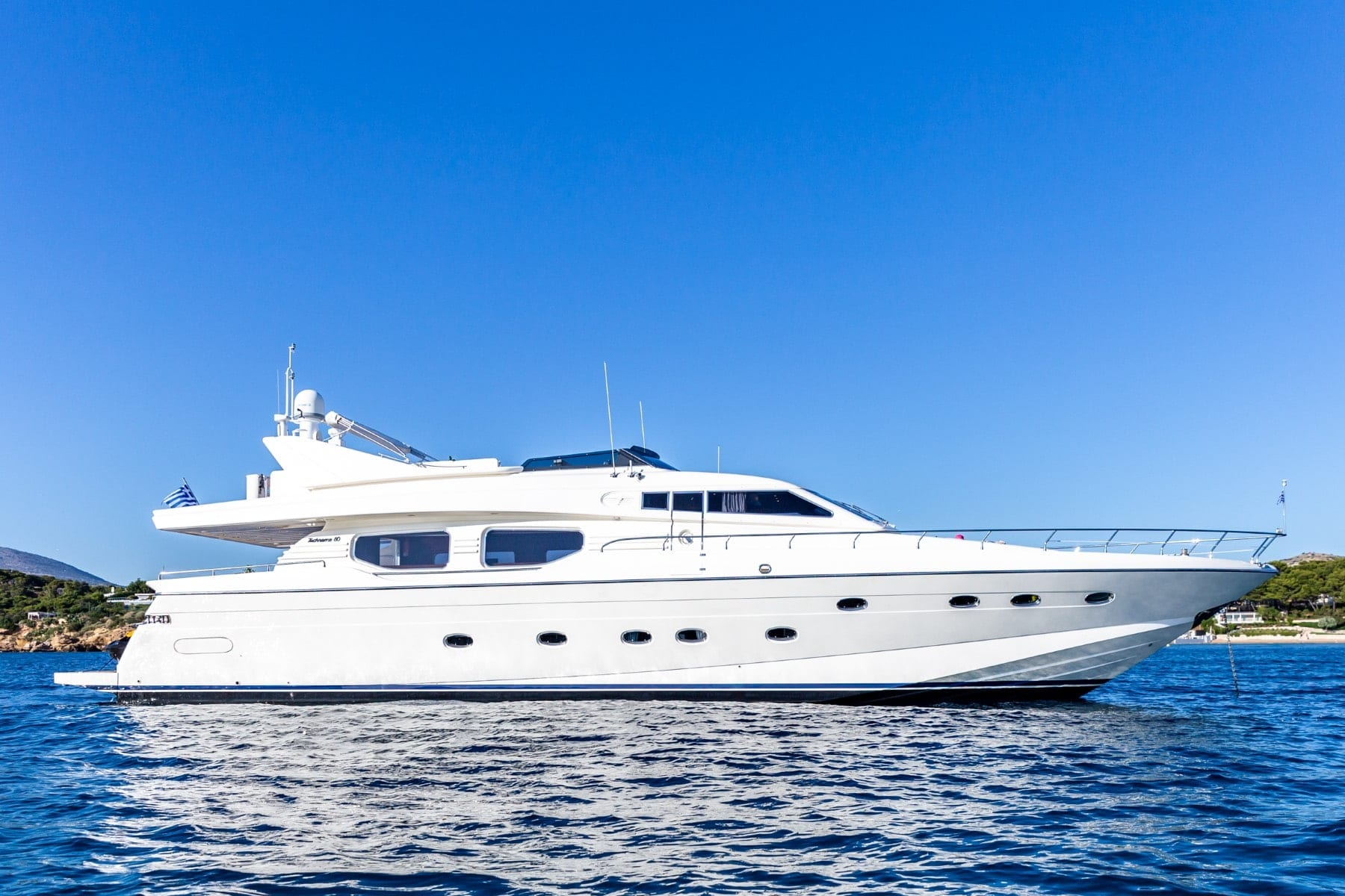 pareaki motor yacht PROFILE