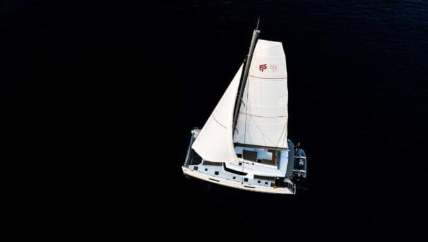 pi2 catamaran aerial (4) (Custom) min - Valef Yachts Chartering