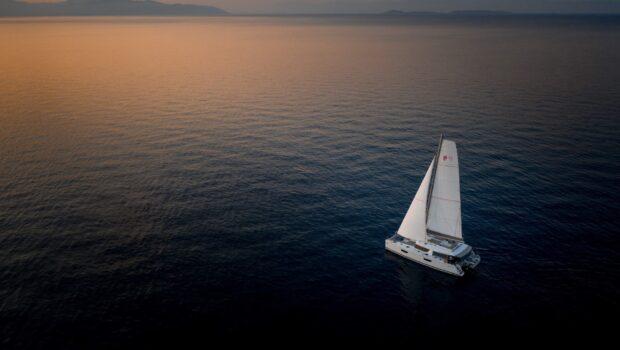 pi2 catamaran aerial (5) (Custom) min - Valef Yachts Chartering