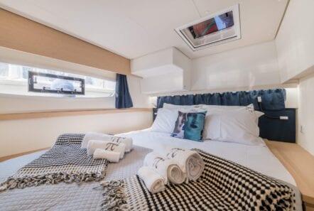 pi2 catamaran cabin