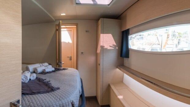 pi2 catamaran cabin (8) (Custom) min - Valef Yachts Chartering