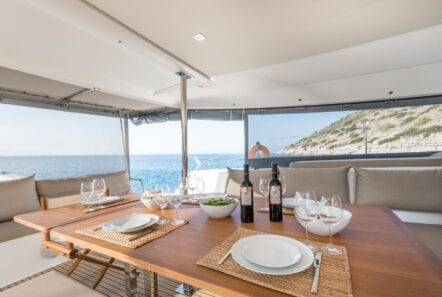 pi2 catamaran food beverage (1) - Valef Yachts Chartering