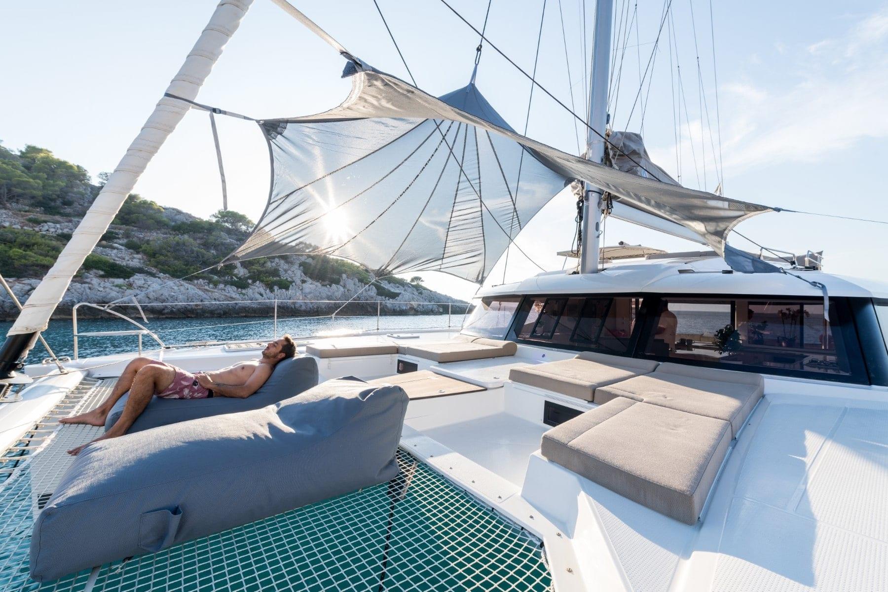 pi2 catamaran lifestyle day (1)  - Valef Yachts Chartering