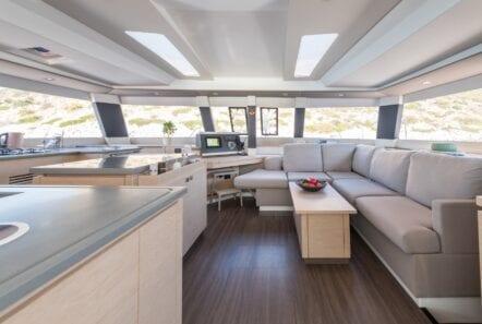 pi2 catamaran salon (1)  - Valef Yachts Chartering
