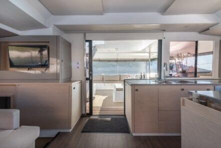 pi2 catamaran salon (5)  - Valef Yachts Chartering