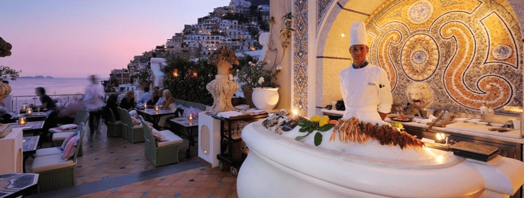 sireneuse michelin star amalfi travel guide min - Valef Yachts Chartering