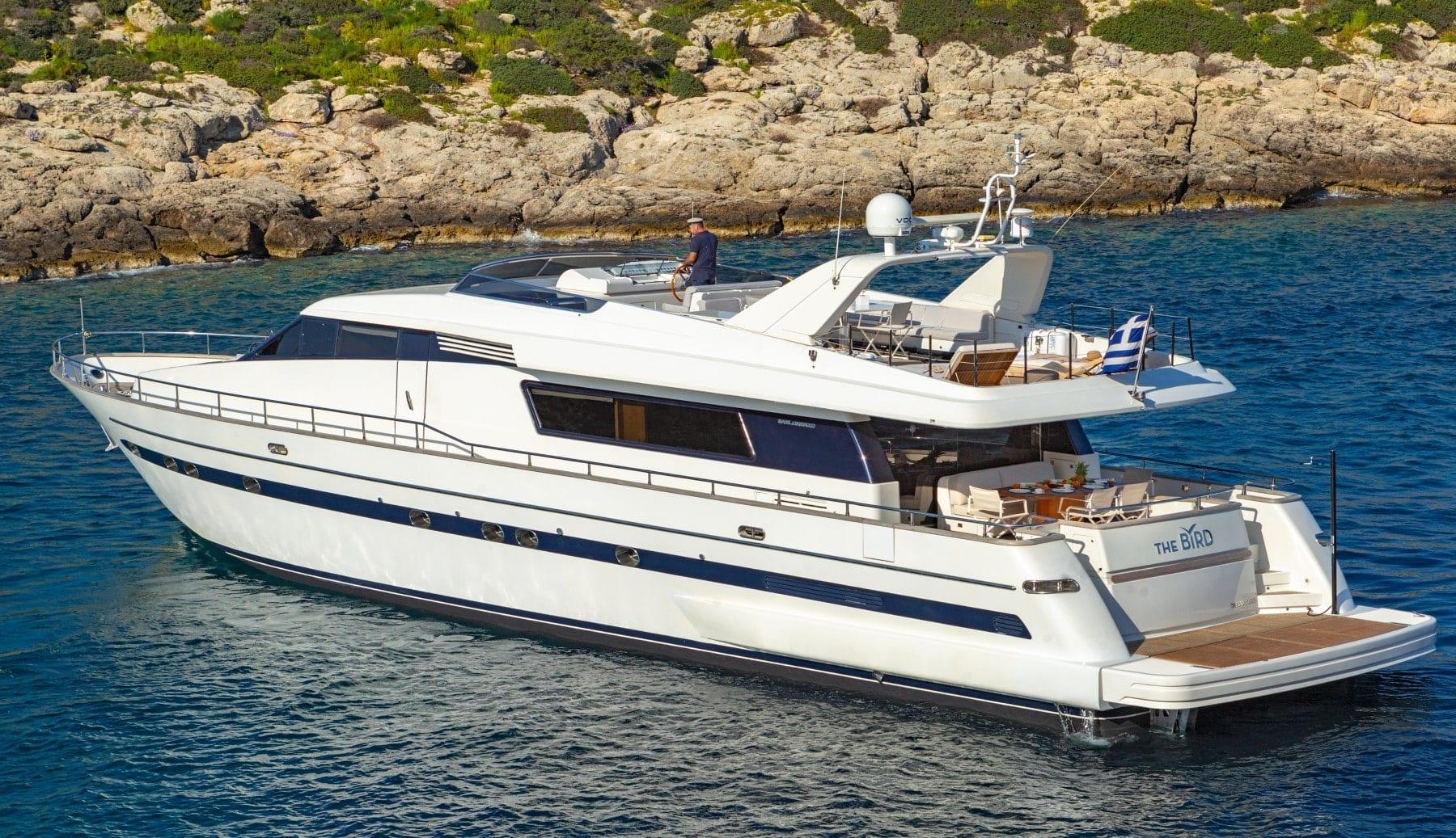 the bird motor yacht exterior profiles (1) min - Valef Yachts Chartering