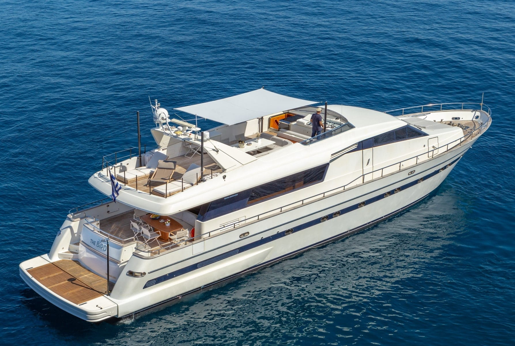 the bird motor yacht exterior profiles (10) min - Valef Yachts Chartering