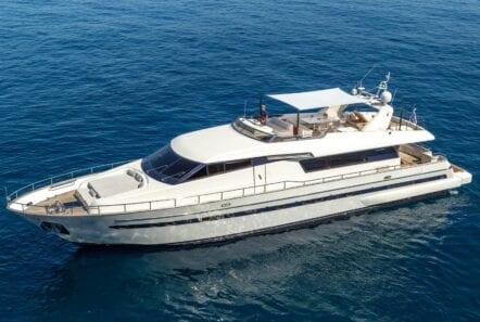 the bird motor yacht exterior profiles (11) min - Valef Yachts Chartering