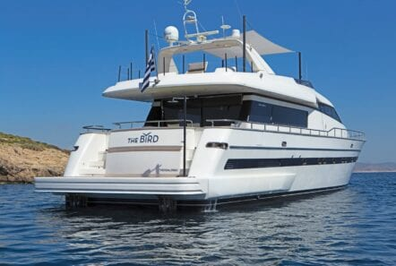 the bird motor yacht exterior profiles (7) min - Valef Yachts Chartering