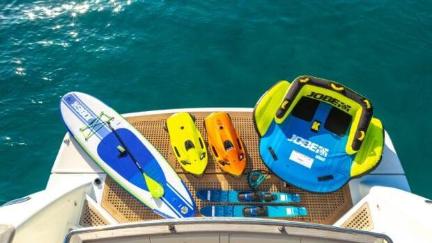 the bird motor yacht sea toys (1) - Valef Yachts Chartering