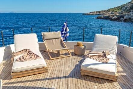 the bird motor yacht sundeck (3) min - Valef Yachts Chartering