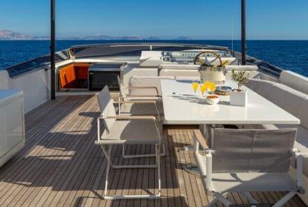 the bird motor yacht sundeck (7) min - Valef Yachts Chartering
