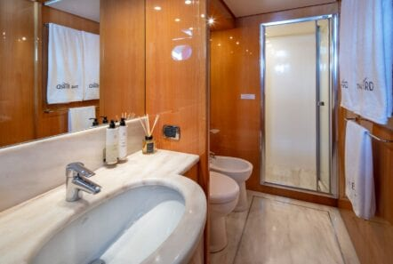 the bird motor yacht vip suite (7) min - Valef Yachts Chartering